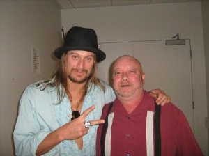 John & Kid Rock Backstage